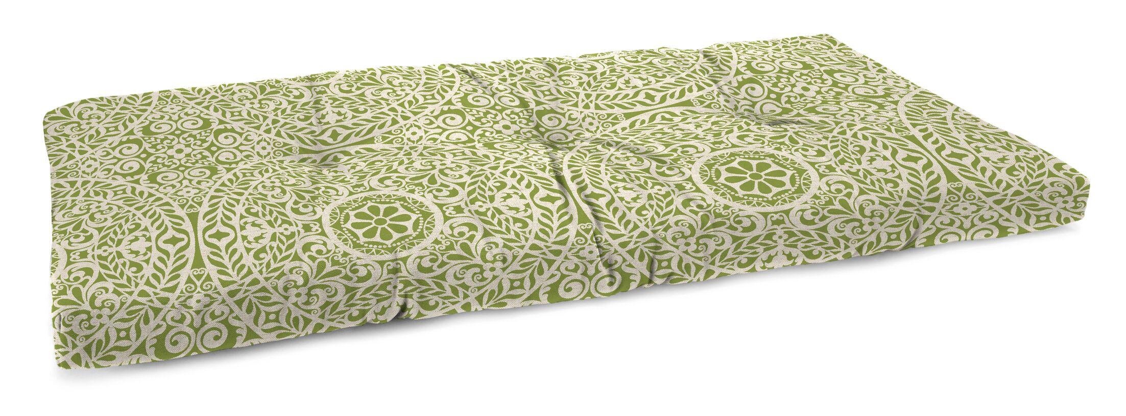 Polyester Indoor Bench Cushion Fabric: Tachenda Palm