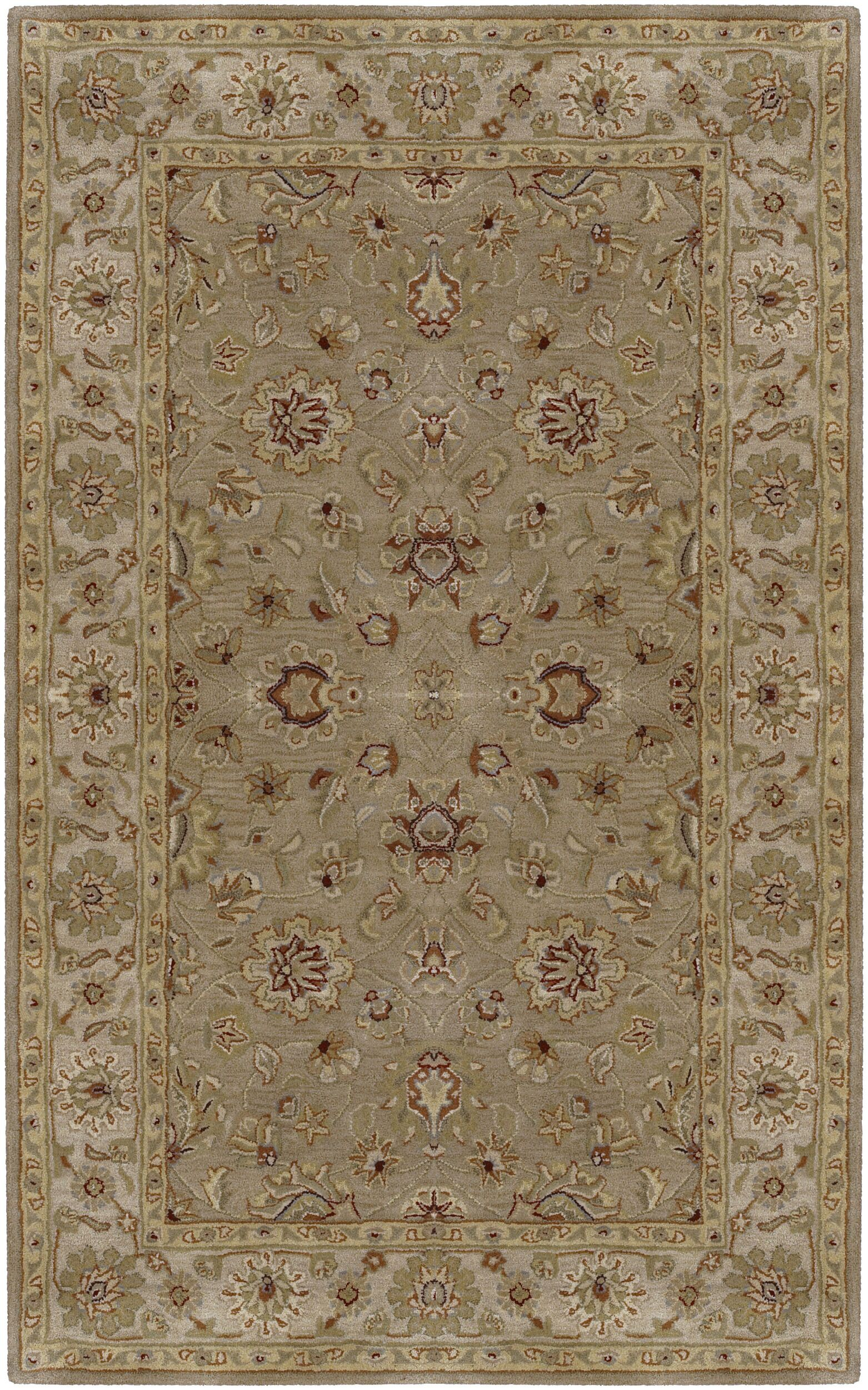 Stanford Dark Tan Rug Rug Size: Rectangle 9' x 13'