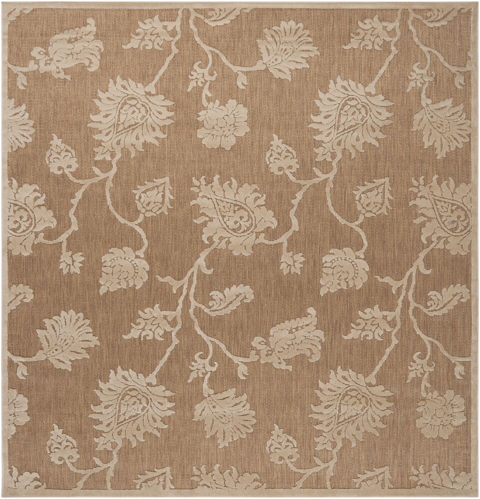 Gaither Khaki Outdoor Area Rug Rug Size: Square 7'6