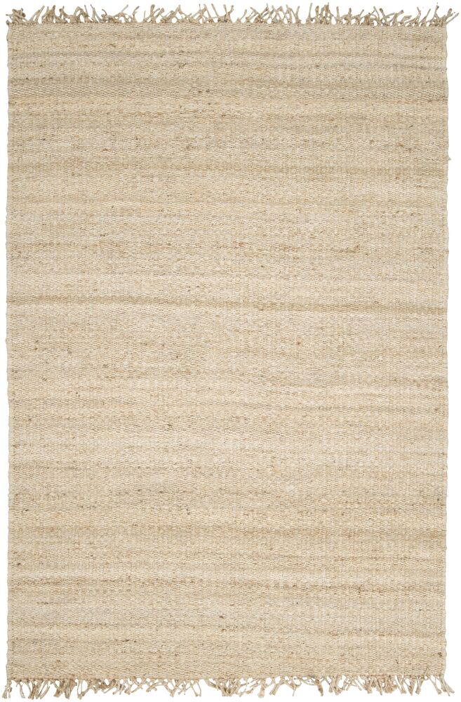 Grogan Hand-Woven Brown Area Rug Rug Size: Rectangle 4' x 6'