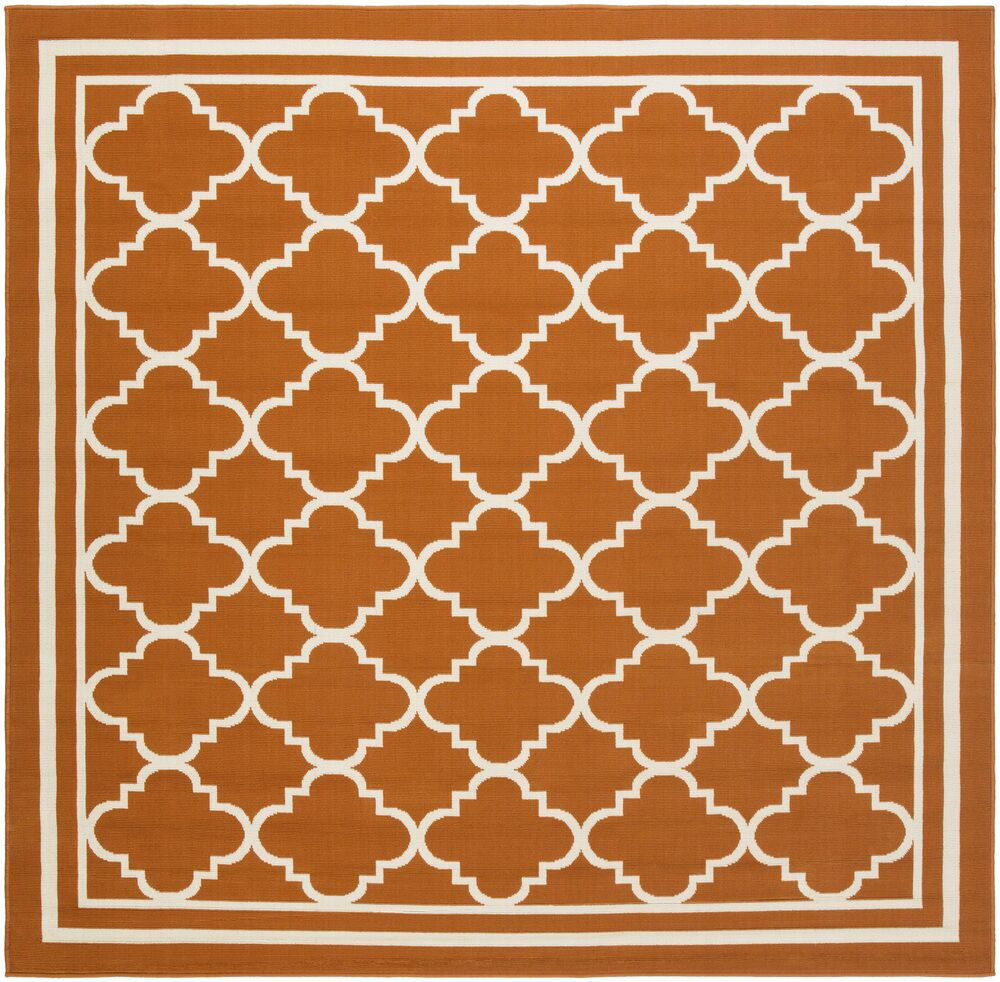 Osage Rust Indoor/Outdoor Area Rug Rug Size: Square 7'10