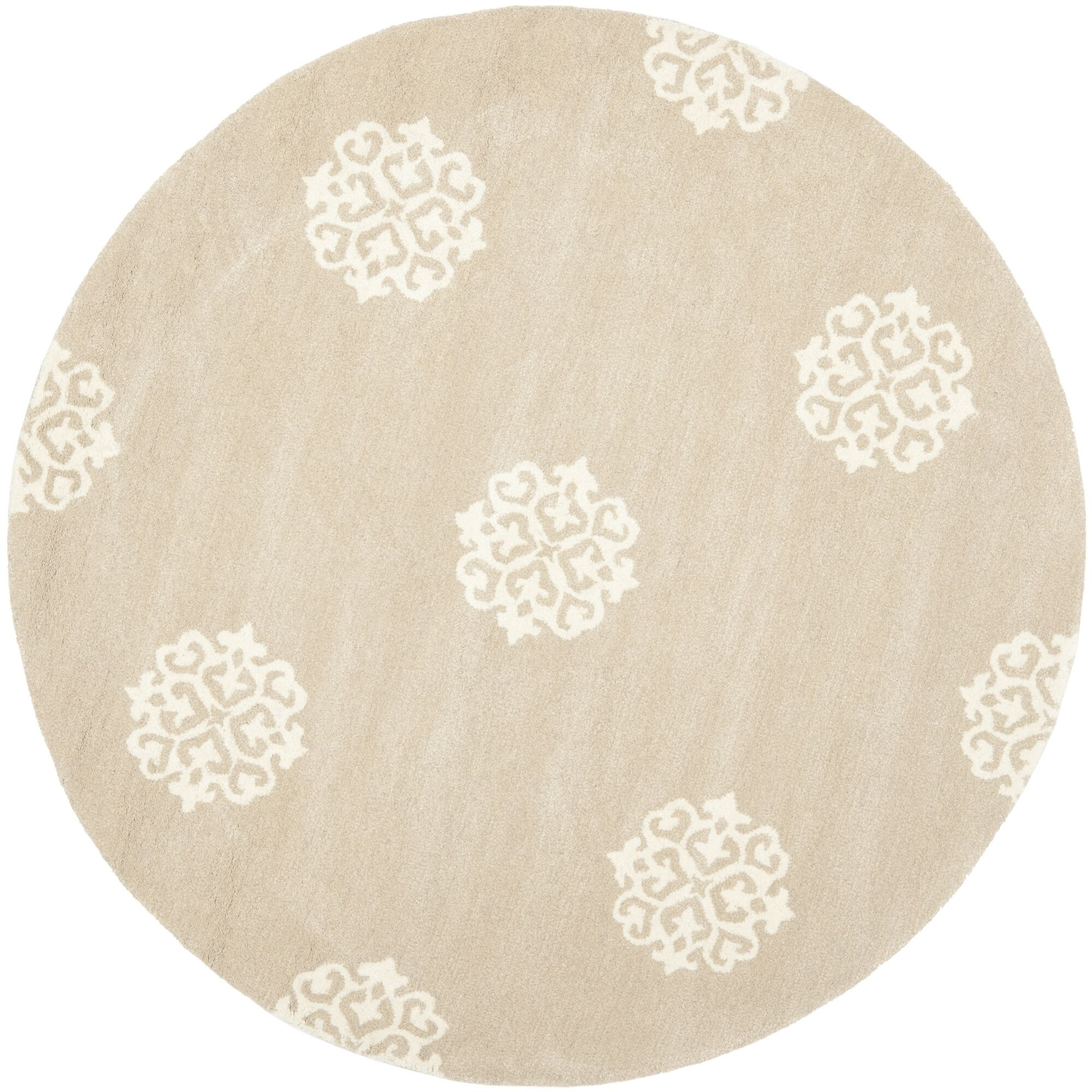 Marcello Beige/Ivory Area Rug Rug Size: Rectangle 9'6