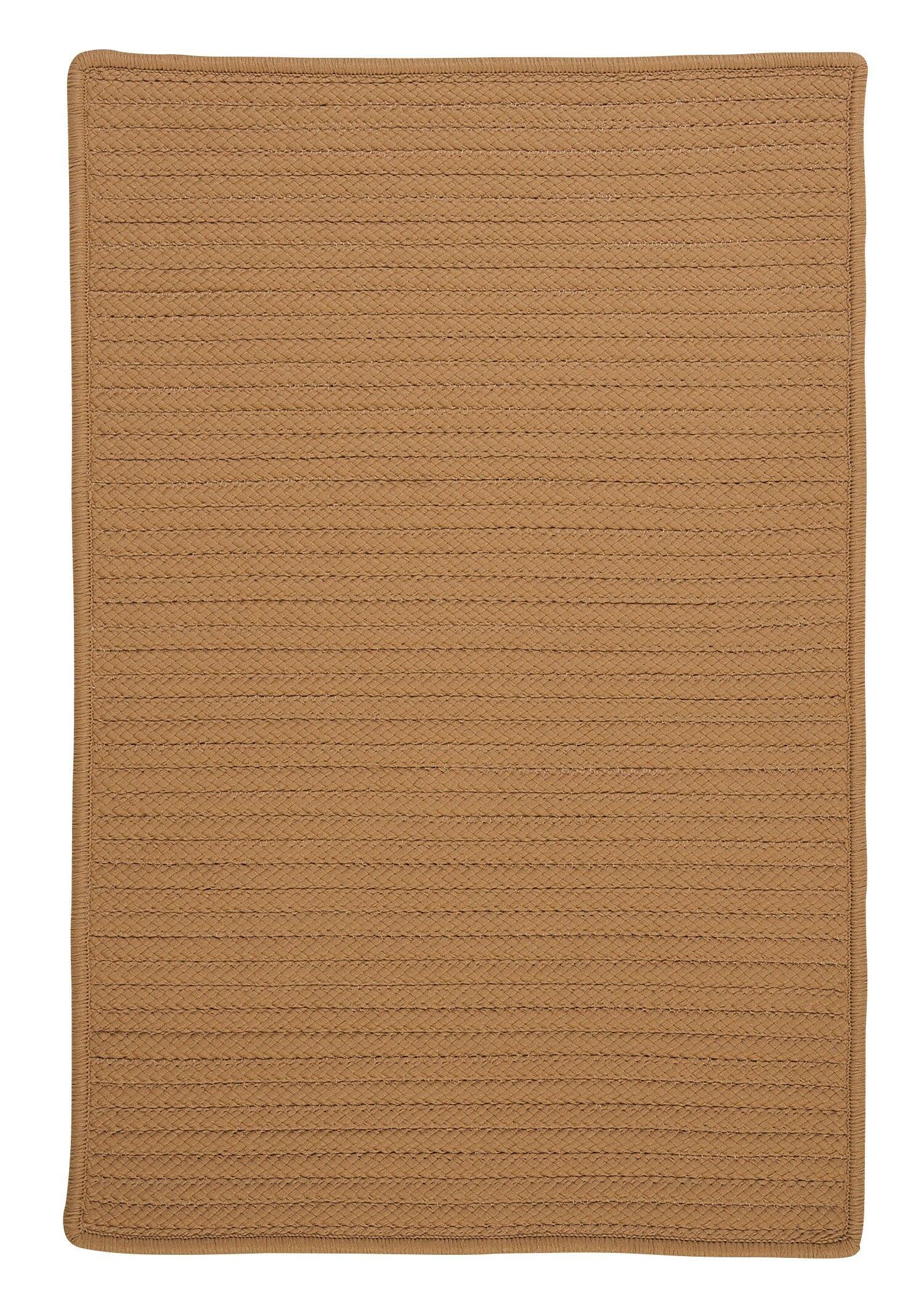 Glasgow Brown Indoor/Outdoor Area Rug Rug Size: Rectangle 7' x 9'
