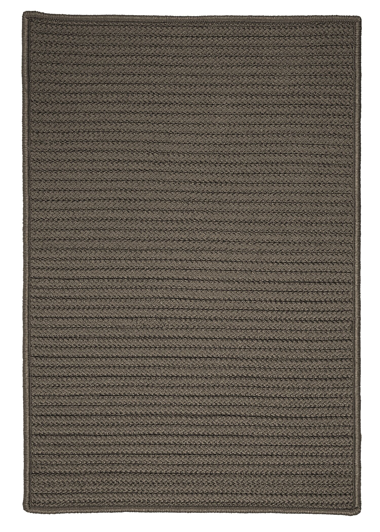 Glasgow Gray Solid Indoor/Outdoor Area Rug Rug Size: Rectangle 12' x 15'