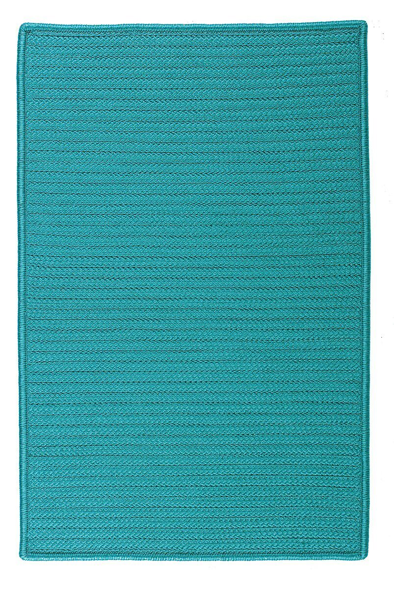 Glasgow Blue Indoor/Outdoor Area Rug Rug Size: Runner 2' x 12'
