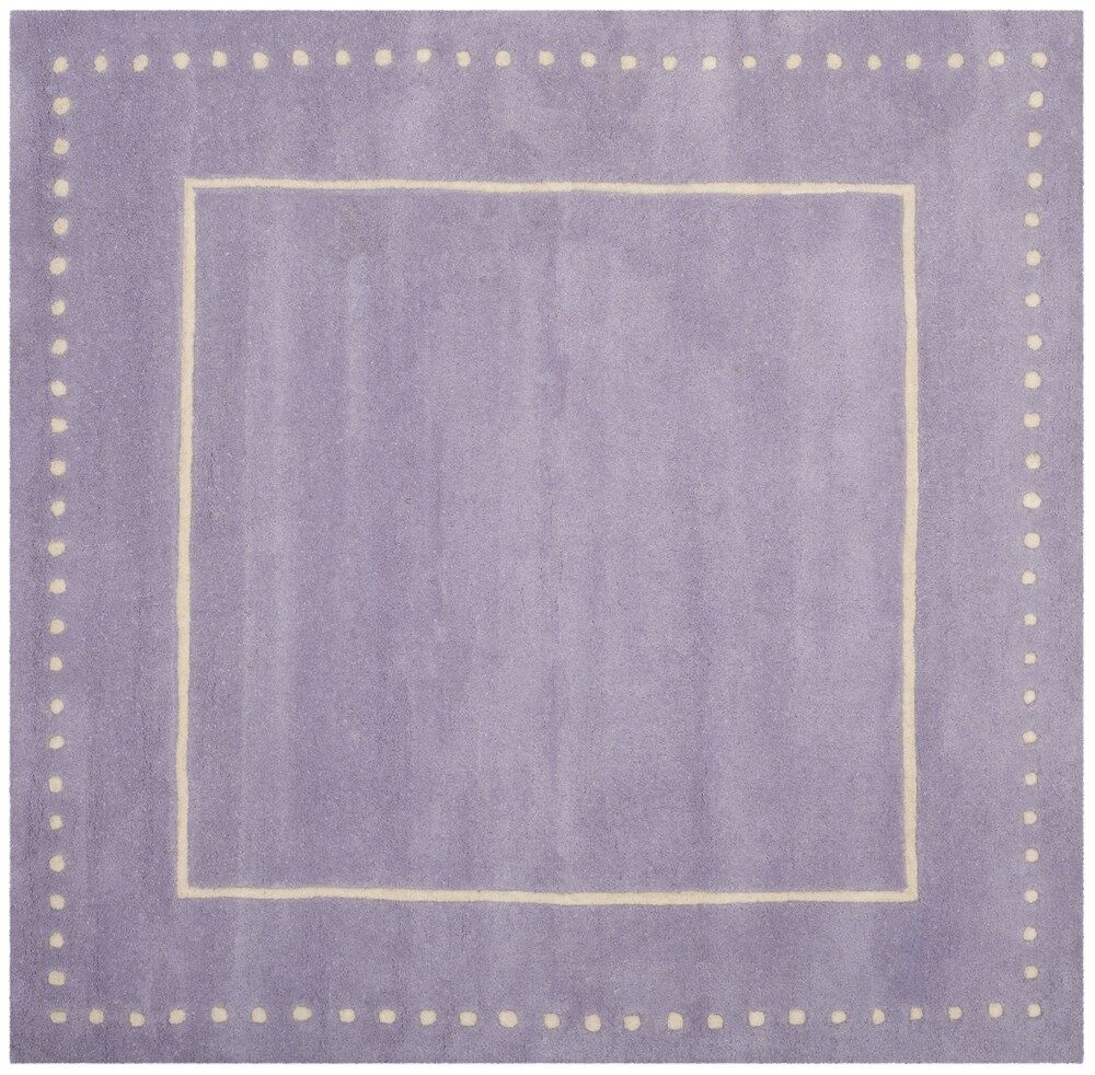 Amundson Hand-Tufted Gray Area Rug Rug Size: Square 5'