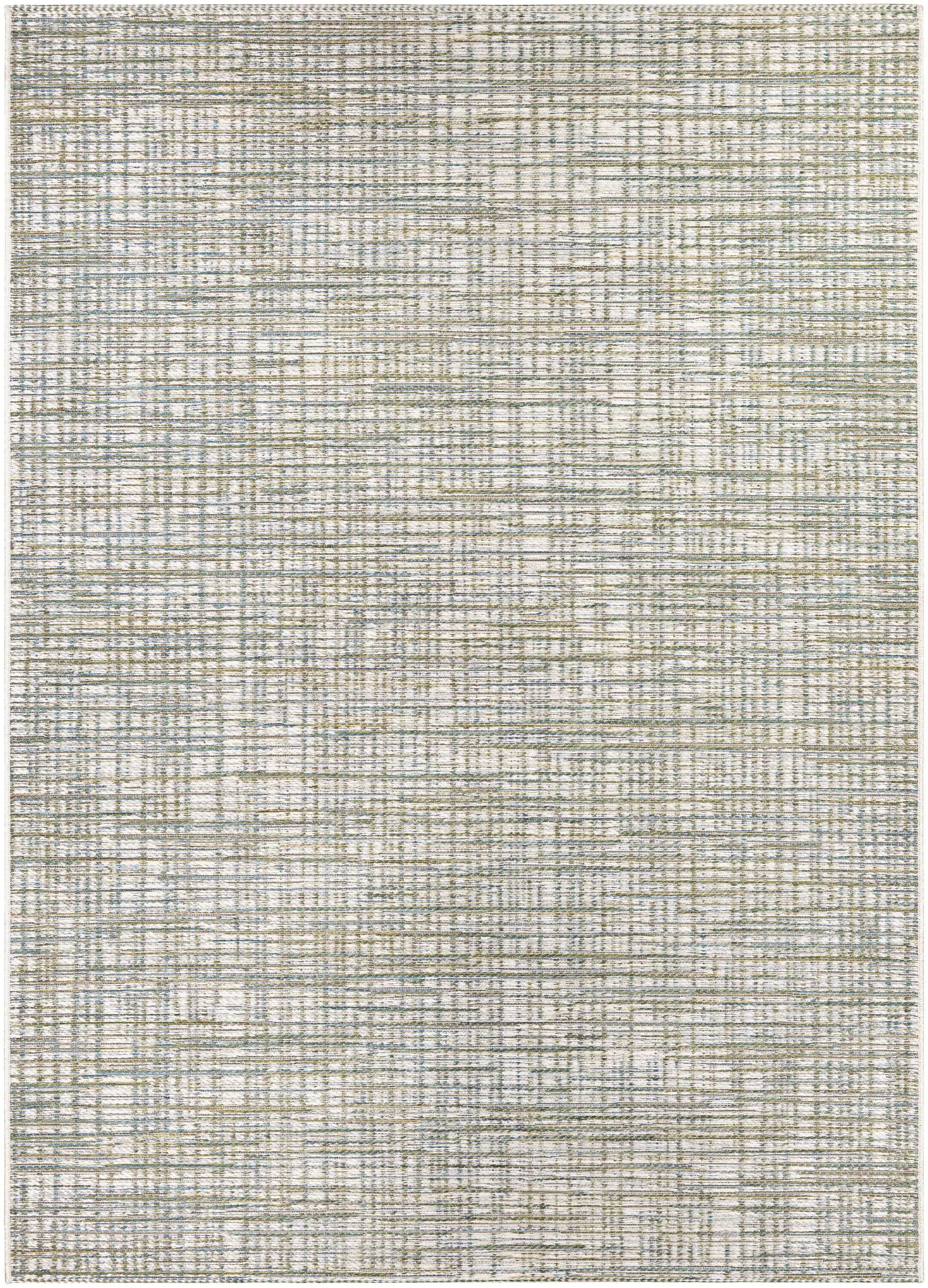 Carone Ivory/Hunter Indoor/Outdoor Area Rug Rug Size: Rectangle 7'10