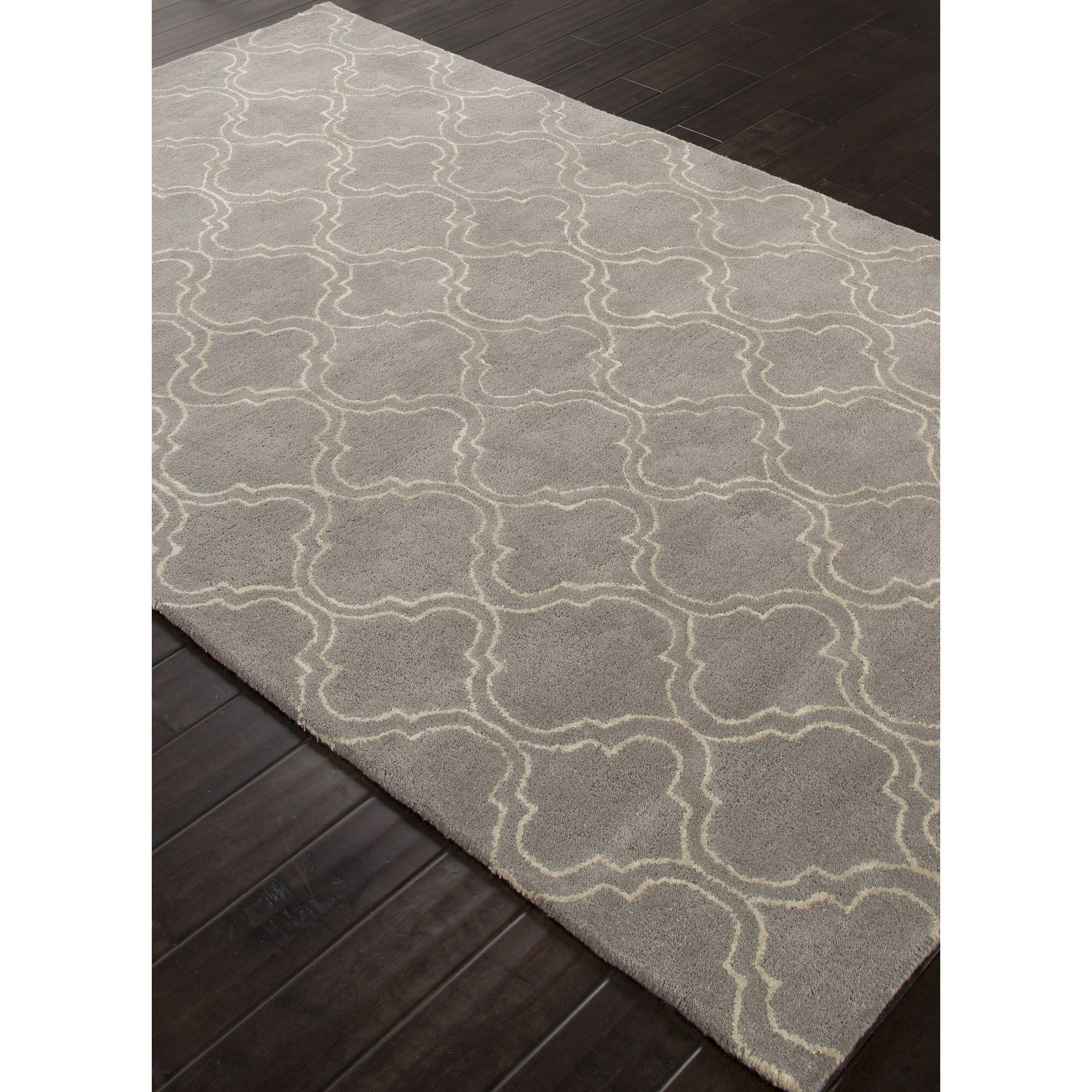 Orson Hand-Woven Gray/Ivory Area Rug Rug Size: Rectangle 8' x 11'