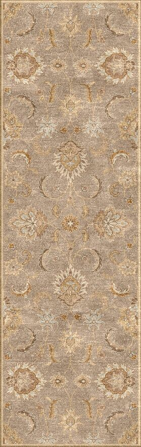 Thornhill Gray/Tan Area Rug Rug Size: Runner 4' x 16'