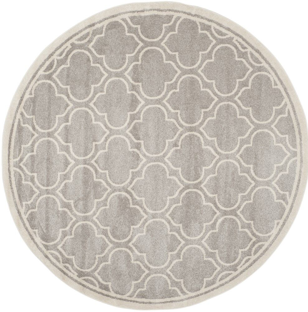 Carman Gray/Beige Indoor/Outdoor Area Rug Rug Size: Rectangle 10' x 14'