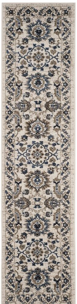 Arthur Beige/Blue Area Rug Rug Size: Rectangle 11' X 15'