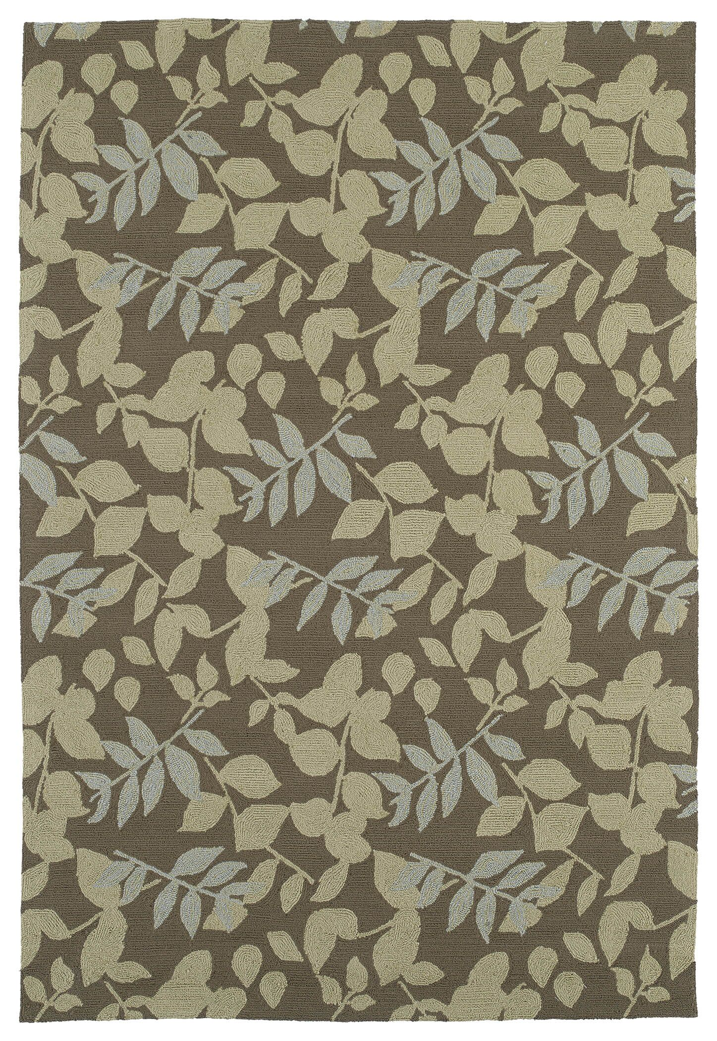 Manning Coffee Indoor/Outdoor Area Rug Rug Size: Rectangle 9' x 12'