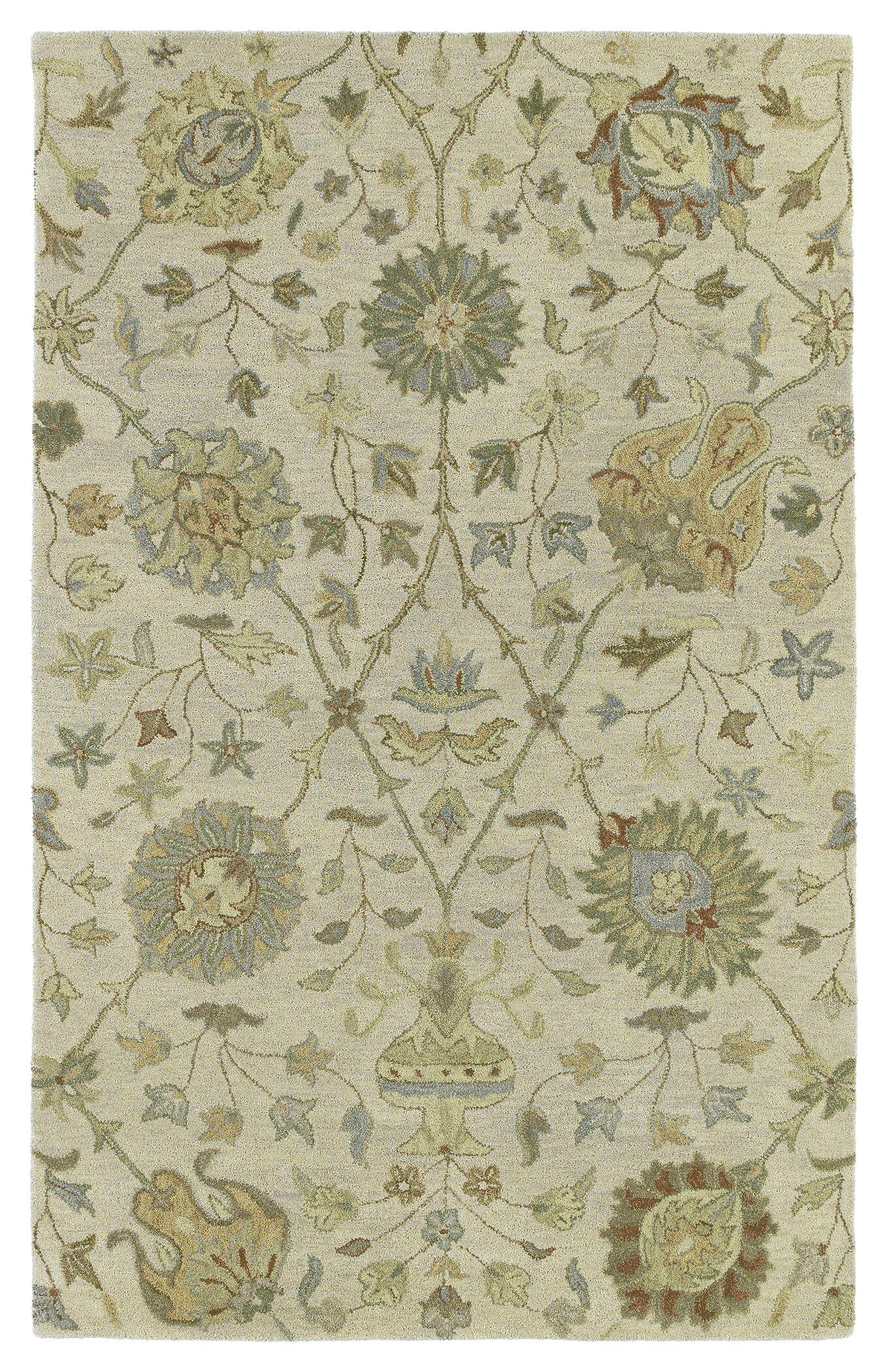 Casper Ivory Aphrodite Rug Rug Size: Rectangle 4' x 6'