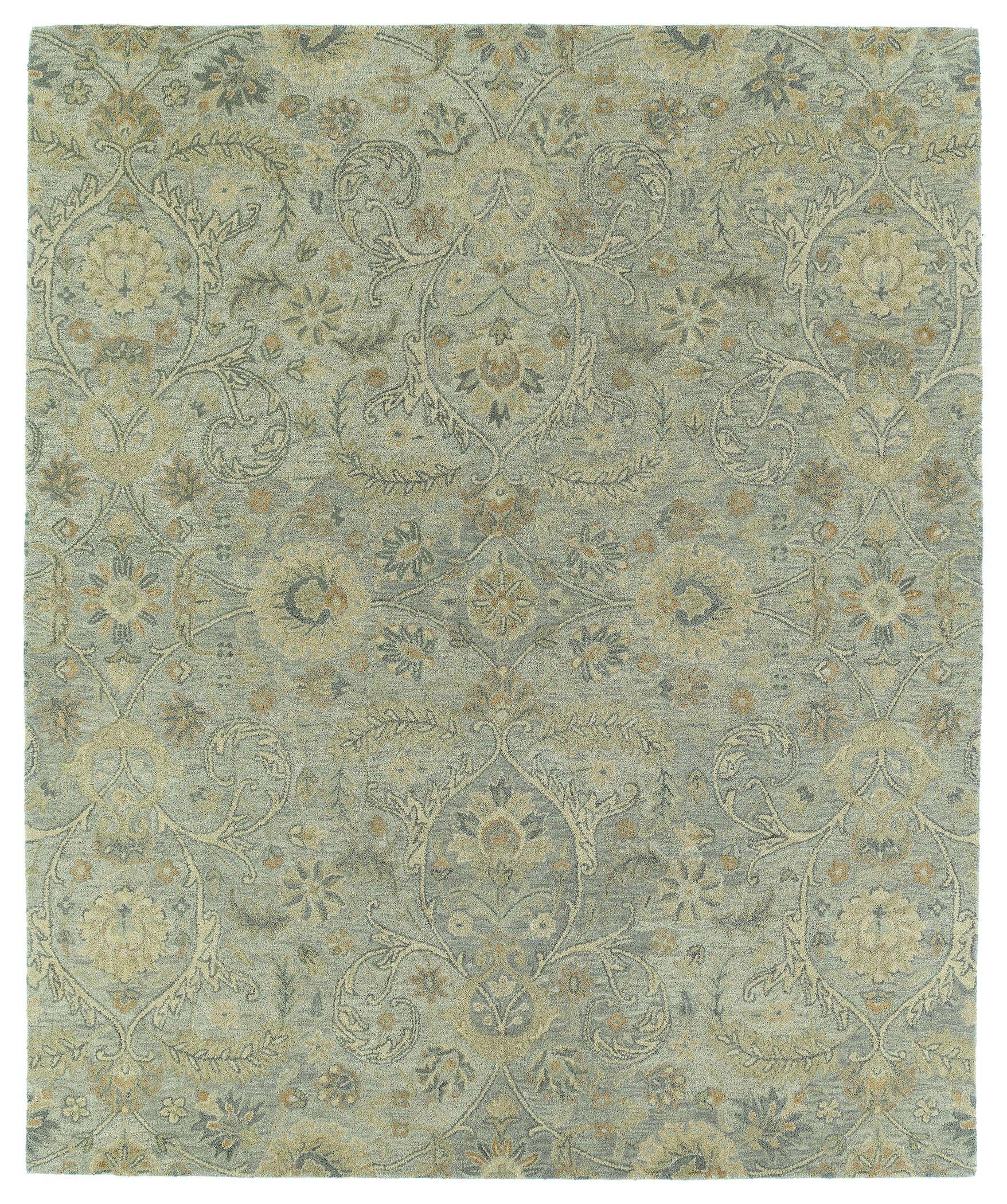 Casper Gray Athena Rug Rug Size: Rectangle 8' x 10'