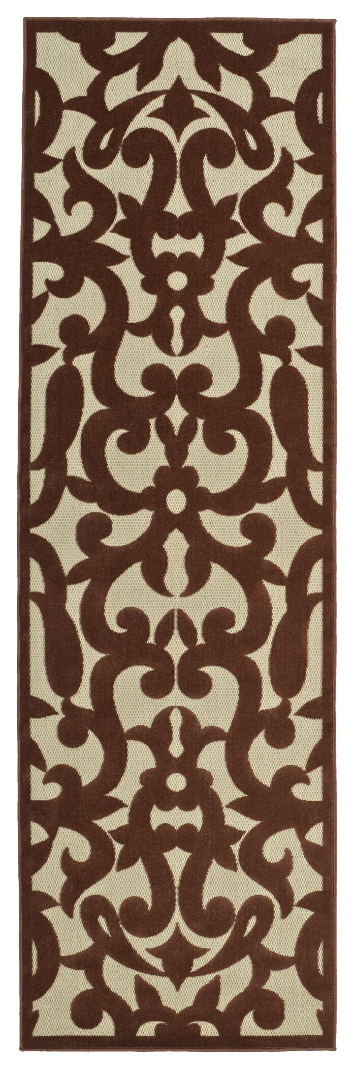 Covedale Machine Woven Terracotta Indoor/Outdoor Area Rug Rug Size: Rectangle 8'8