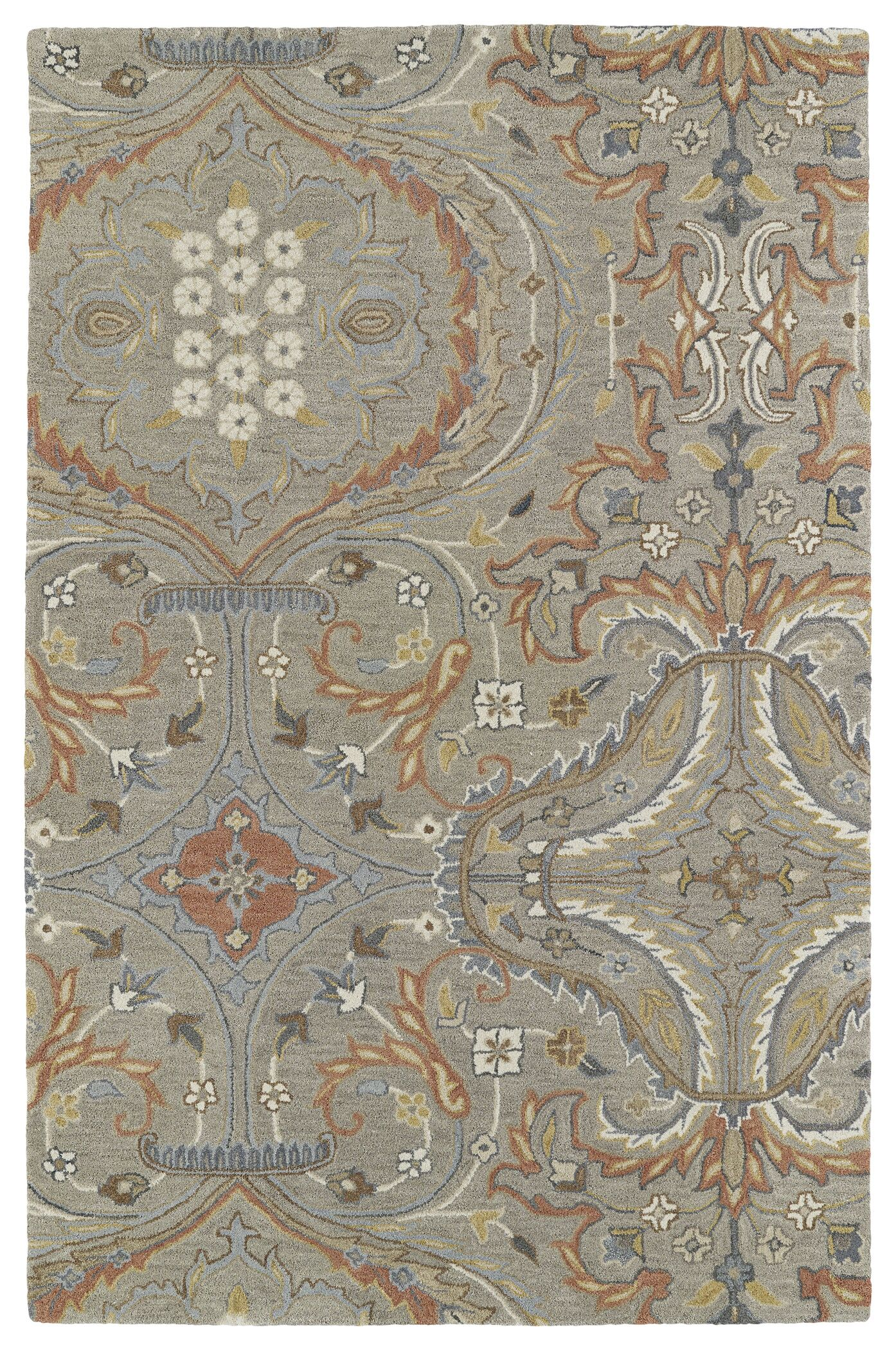 Casper Taupe Area Rug Rug Size: Rectangle 9' x 12'