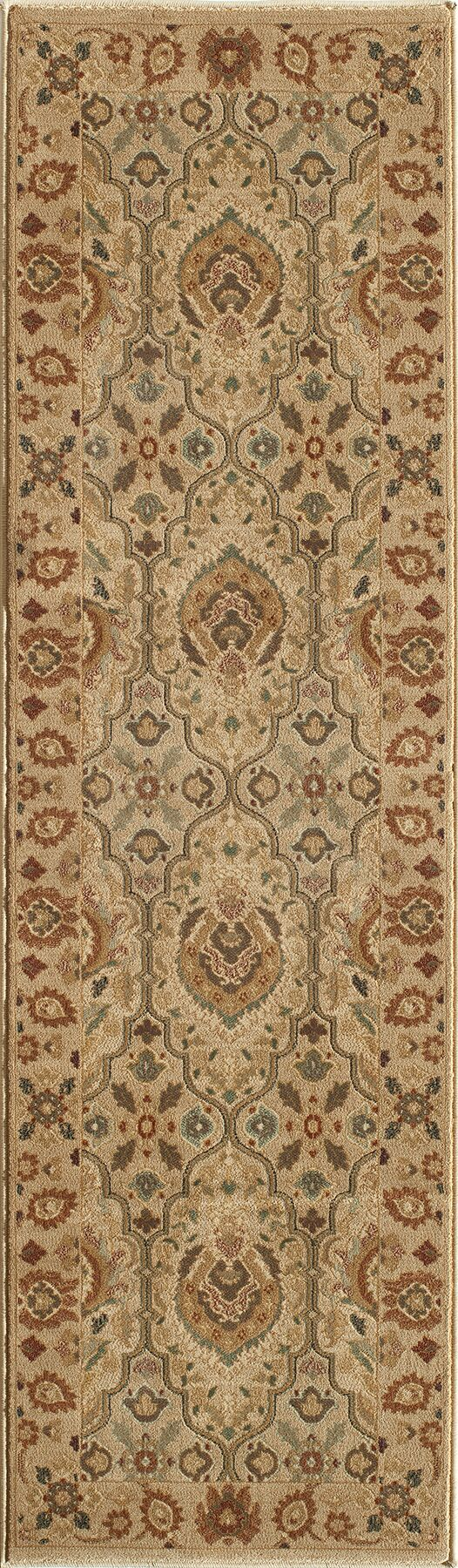 Crescent Ivory Area Rug Rug Size: Rectangle 7'10