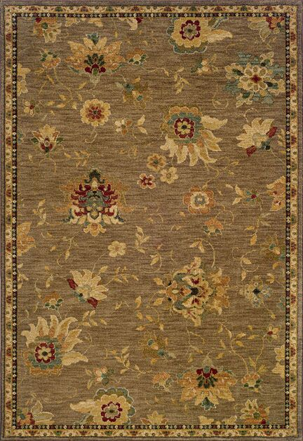 Crossreagh Beige Area Rug Rug Size: Rectangle 9'10