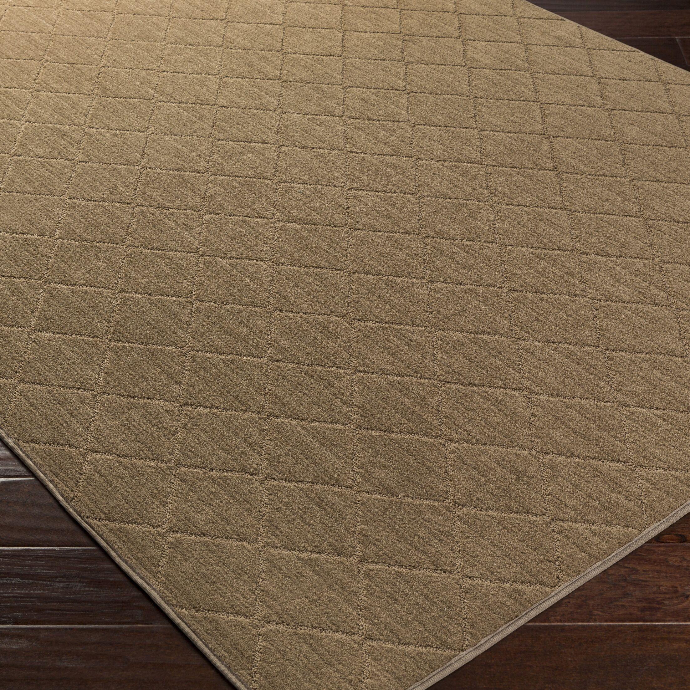 Huxley Beige Area Rug Rug Size: Rectangle 4' x 6'