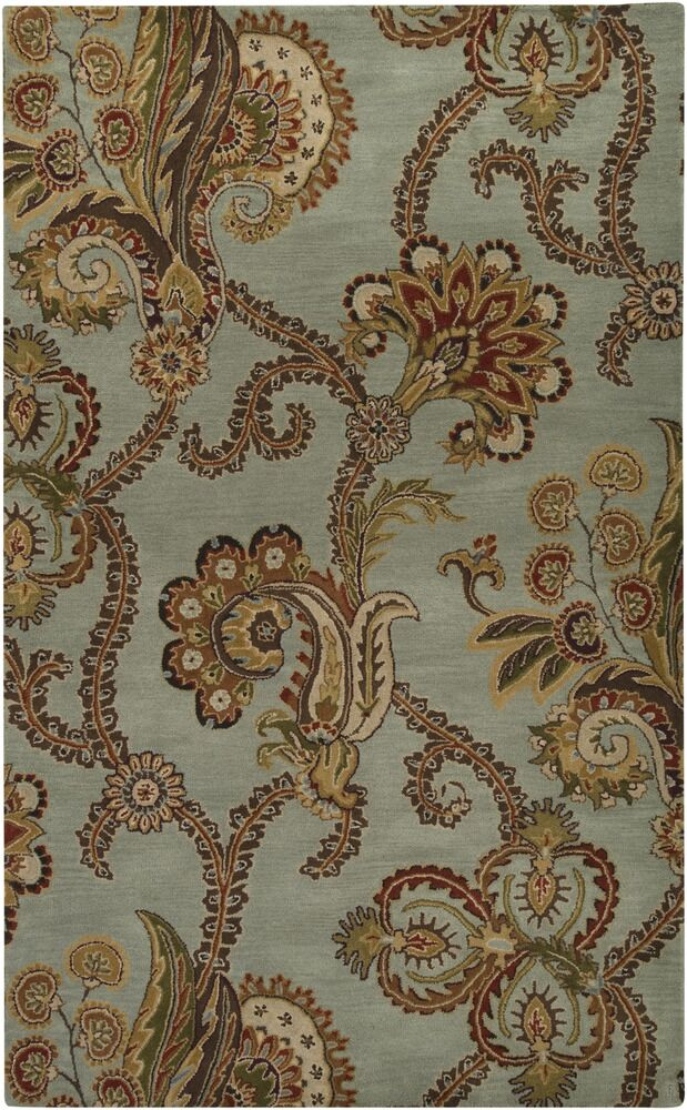 Schueller Floral Medallions Rug Rug Size: Rectangle 9' x 13'