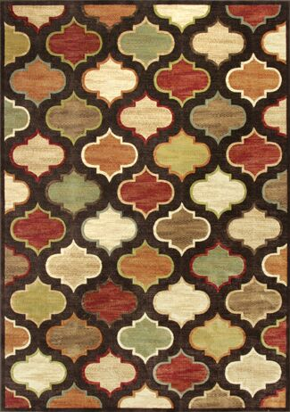 Fernson Arabesque Area Rug Rug Size: Runner 2'2