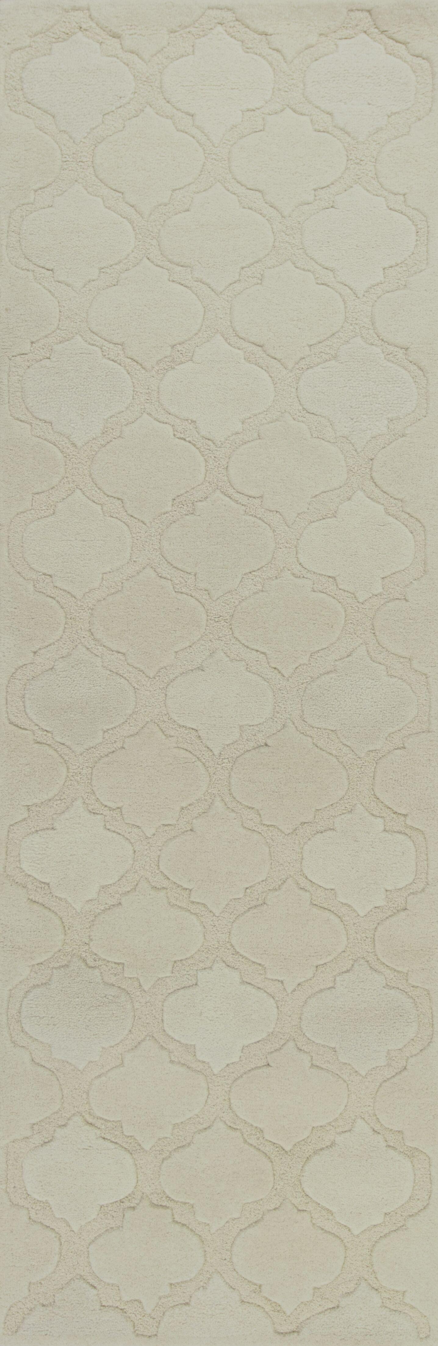 Boleynwood Ivory Arabesque Area Rug Rug Size: 8' x 10'6