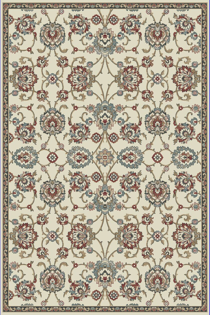 Morocco Ivory Area Rug Rug Size: Rectangle 7'10