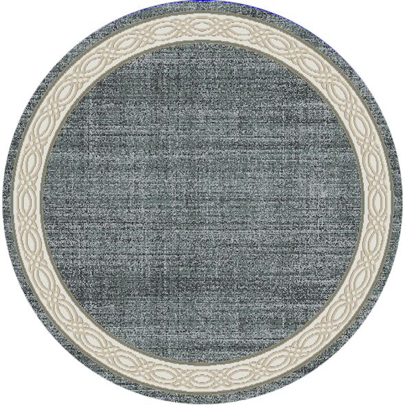 Mishawaka Gray Area Rug Rug Size: Rectangle 7'10