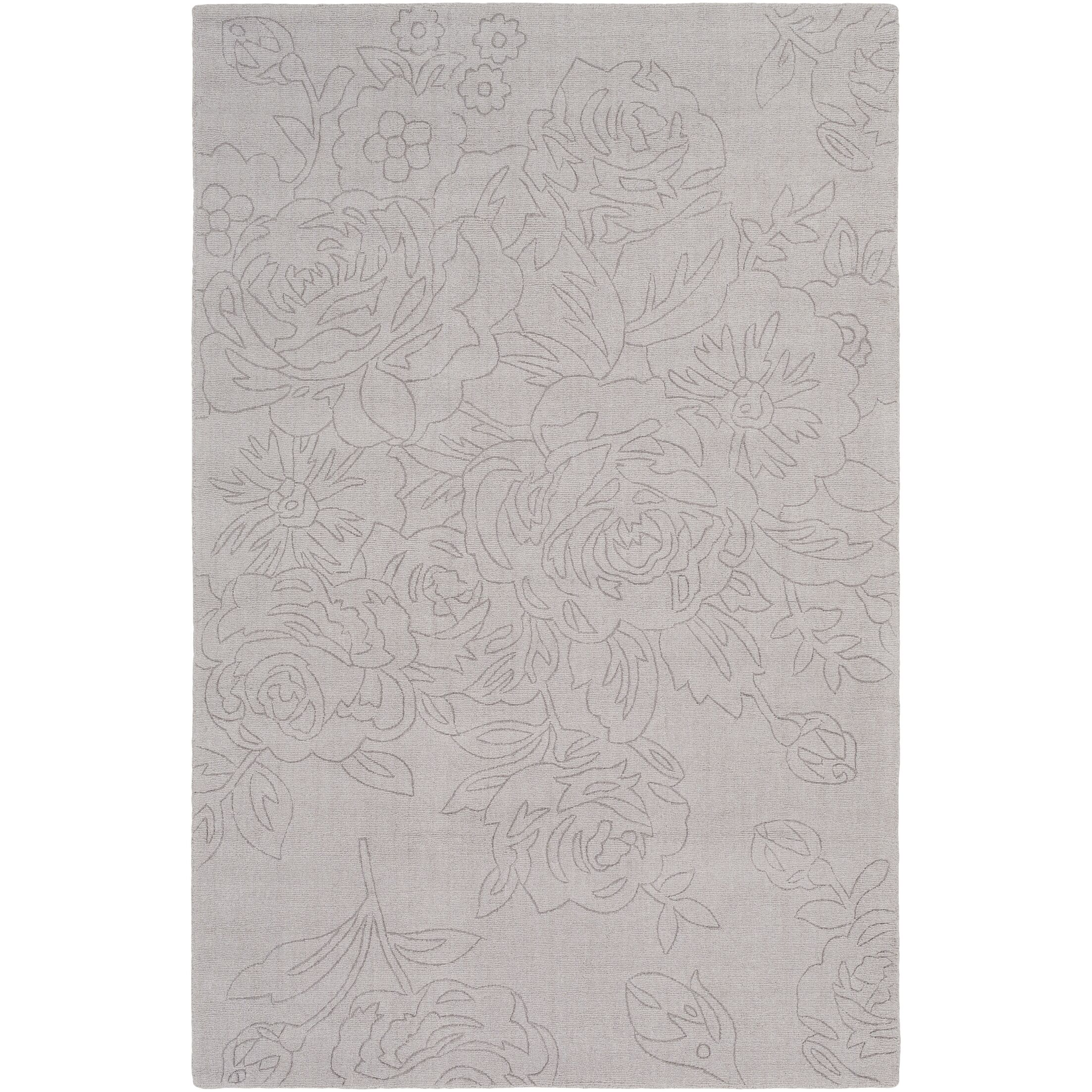 Beckenham Hand-Loomed Taupe Area Rug Rug Size: Rectangle 5' x 7'6