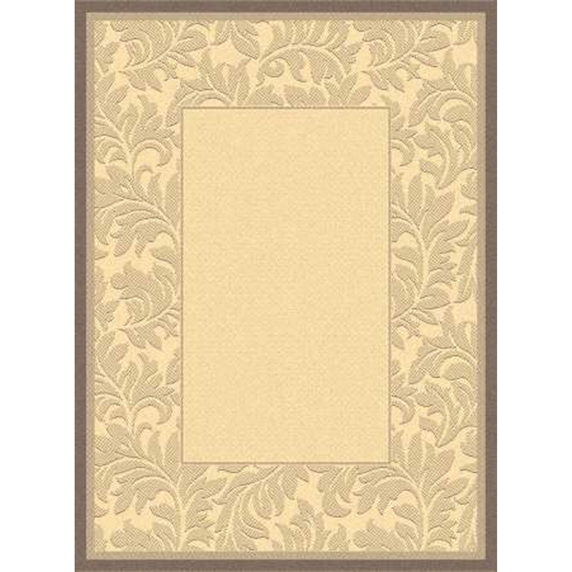 Fenmore Natural/Brown Outdoor Area Rug Rug Size: Rectangle 4' x 5'7