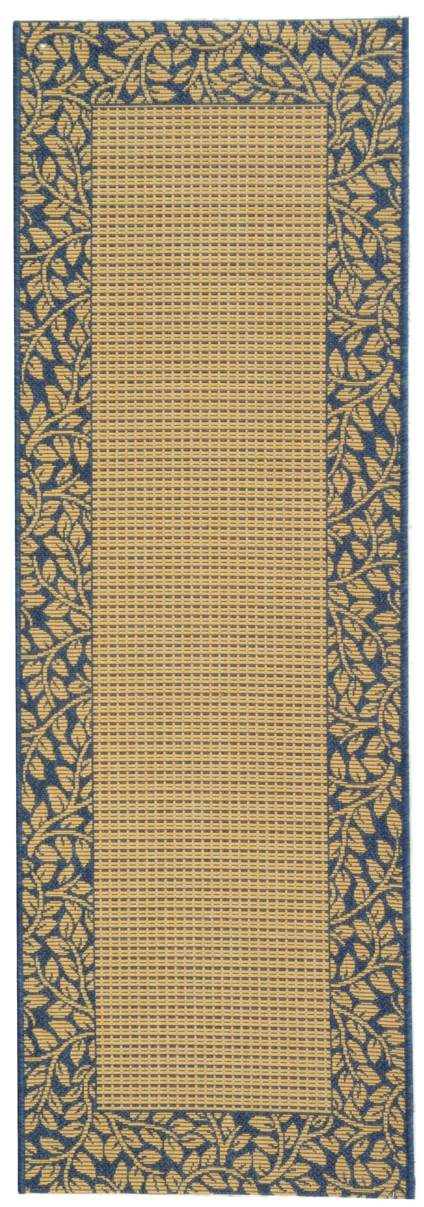 Lippold Brown/Black Outdoor Area Rug Rug Size: Runner 2'4