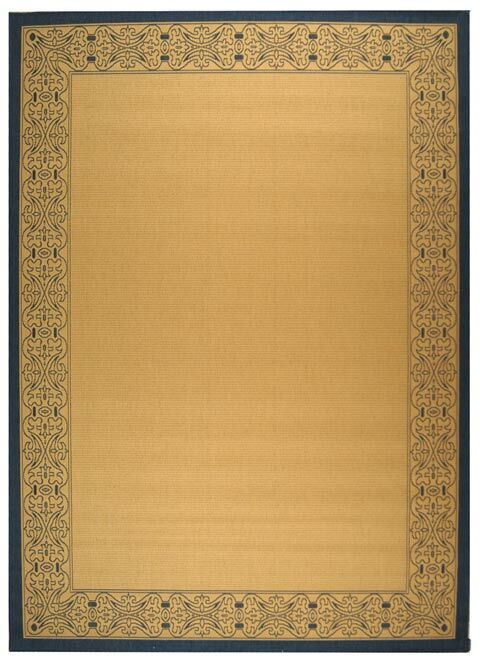 Lansbury Natural Outdoor Area Rug Rug Size: Rectangle 6'7