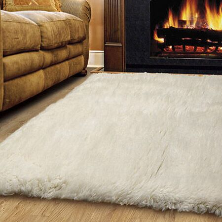 Bloomville Wool Natural Area Rug Rug Size: Rectangle 4' x 6'