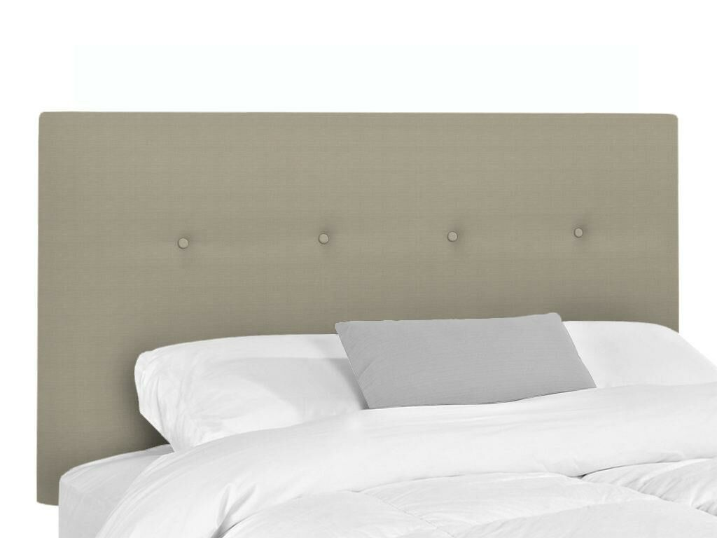Bramblecrest Upholstered Panel Headboard Upholstery: Seagull, Size: Queen