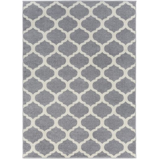 Bogdan Gray Geometric Area Rug Rug Size: Rectangle 7'10