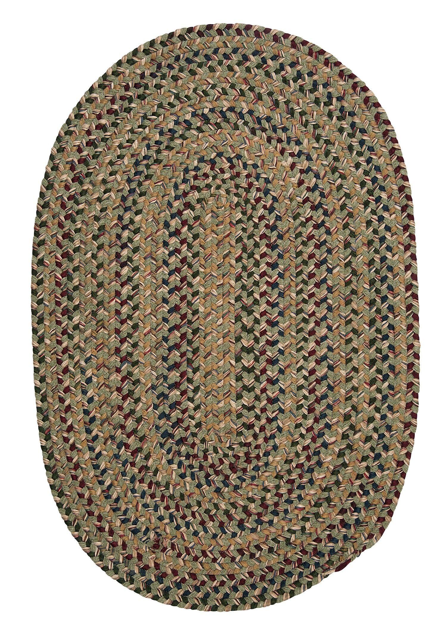 Greenlaw Palm Area Rug Rug Size: Oval 4' x 6'