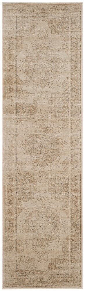 Frith Creme Area Rug Rug Size: Runner 2'2