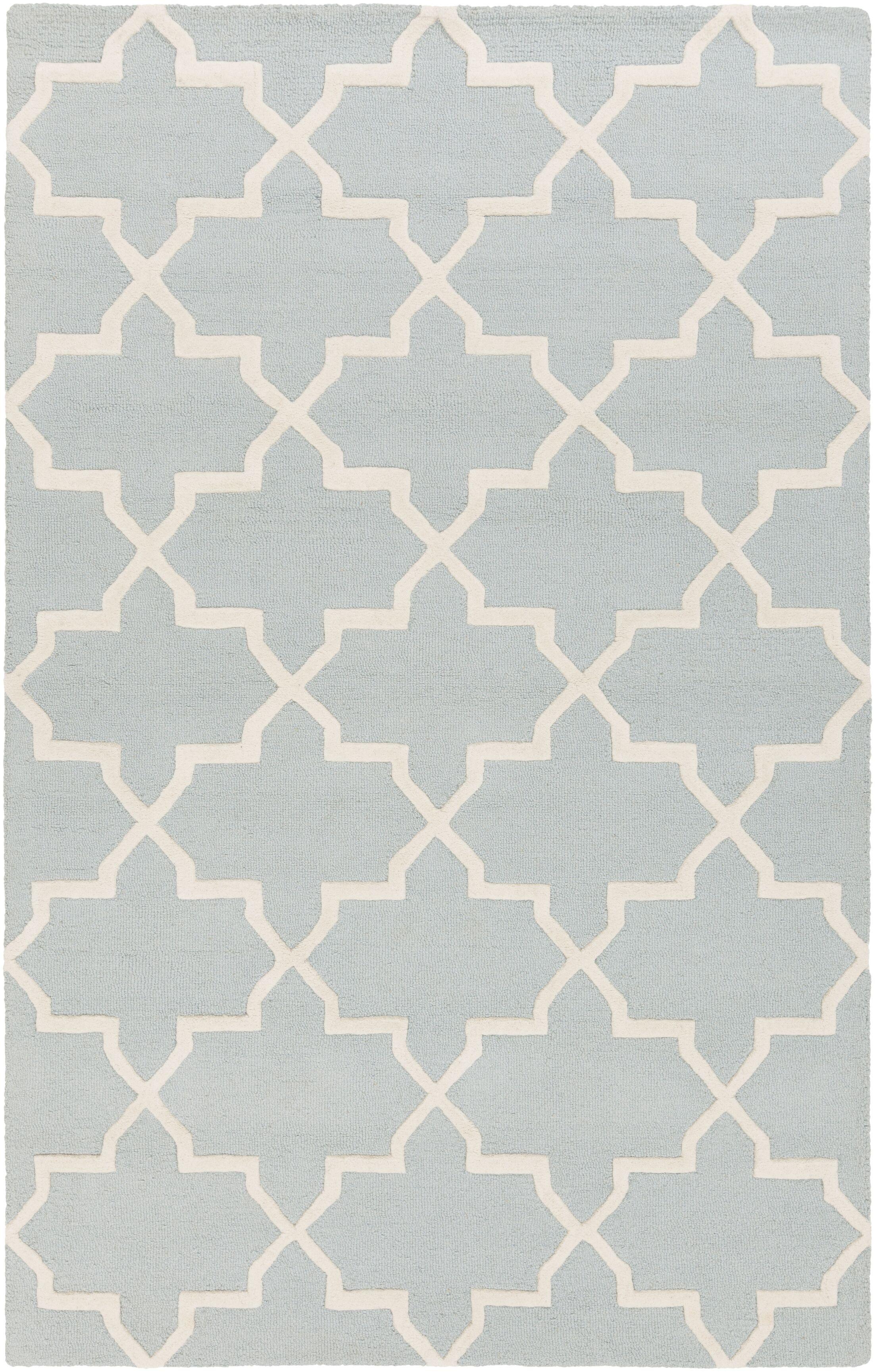 Blaisdell Blue Geometric Keely Area Rug Rug Size: Rectangle 5' x 8'