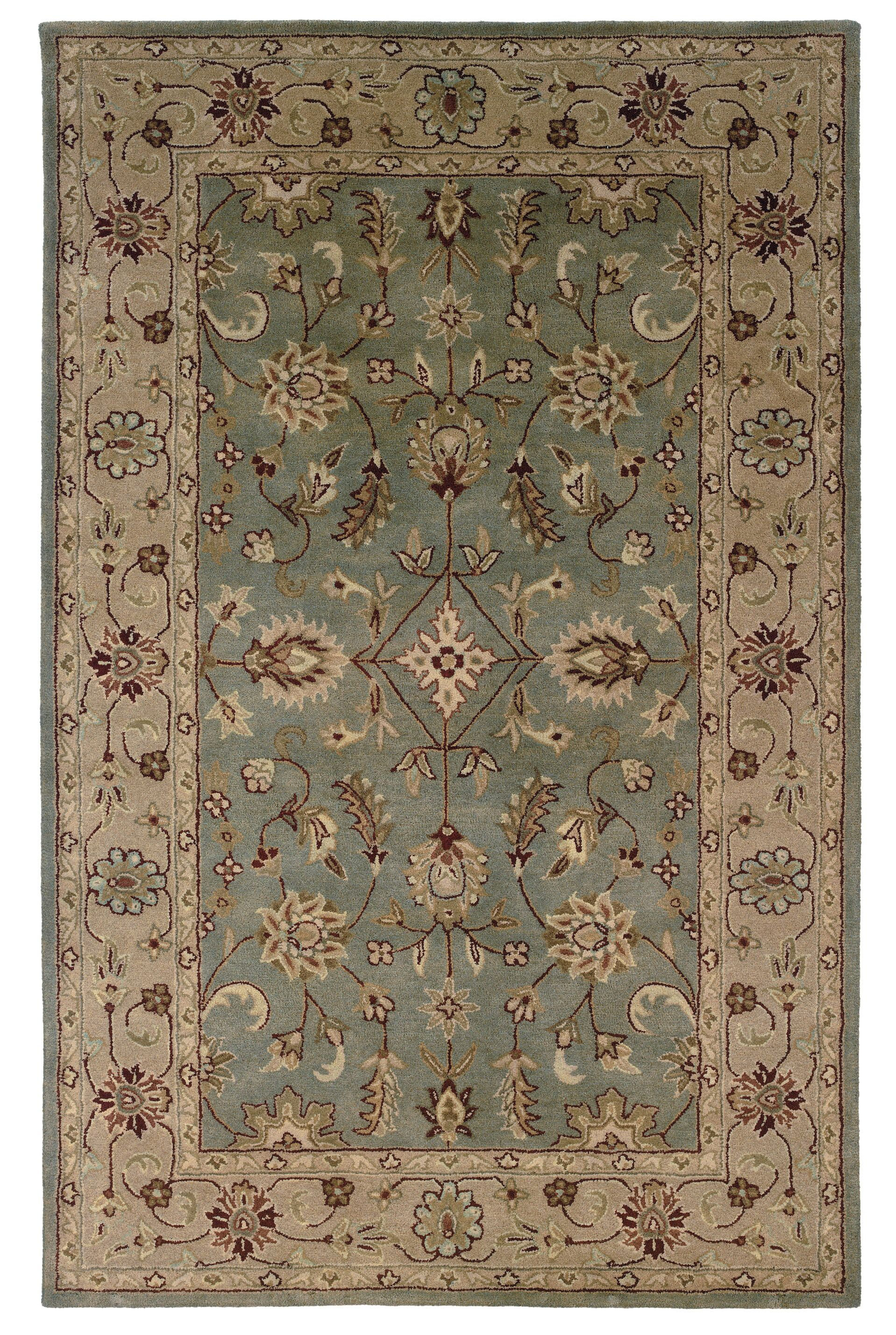 Gattis Hand-Tufted Gray/Beige Area Rug Rug Size: Rectangle 8' x 10'