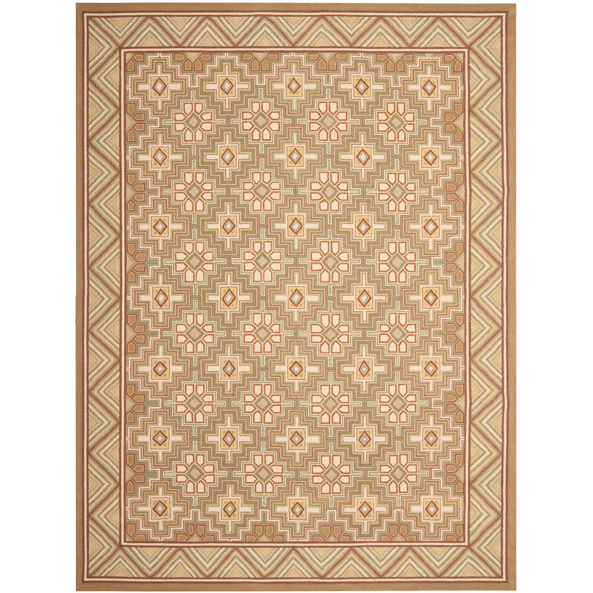 Helena Beige Rug Rug Size: Rectangle 5'3
