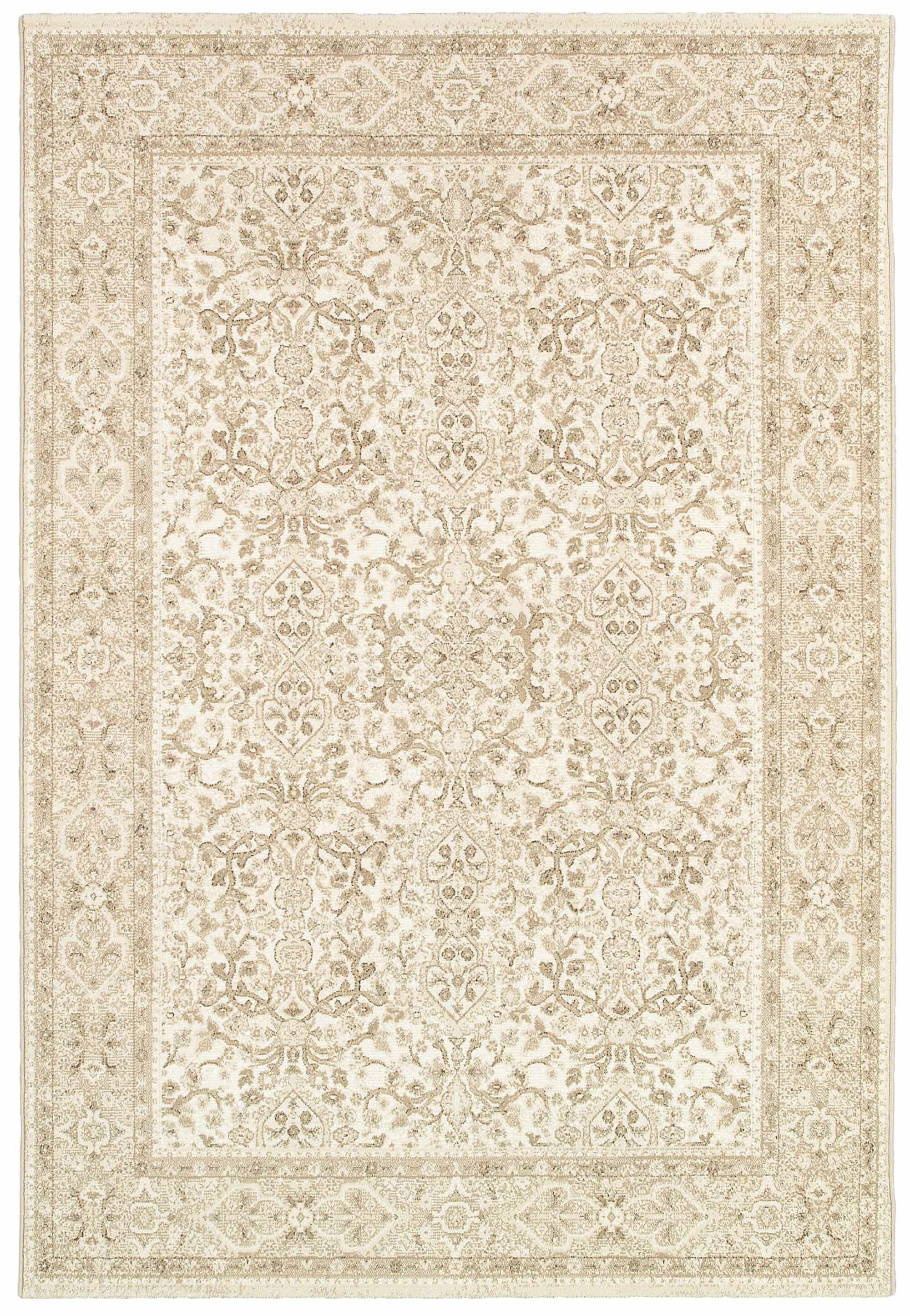Duckett Champagne Area Rug Rug Size: Rectangle 5'3