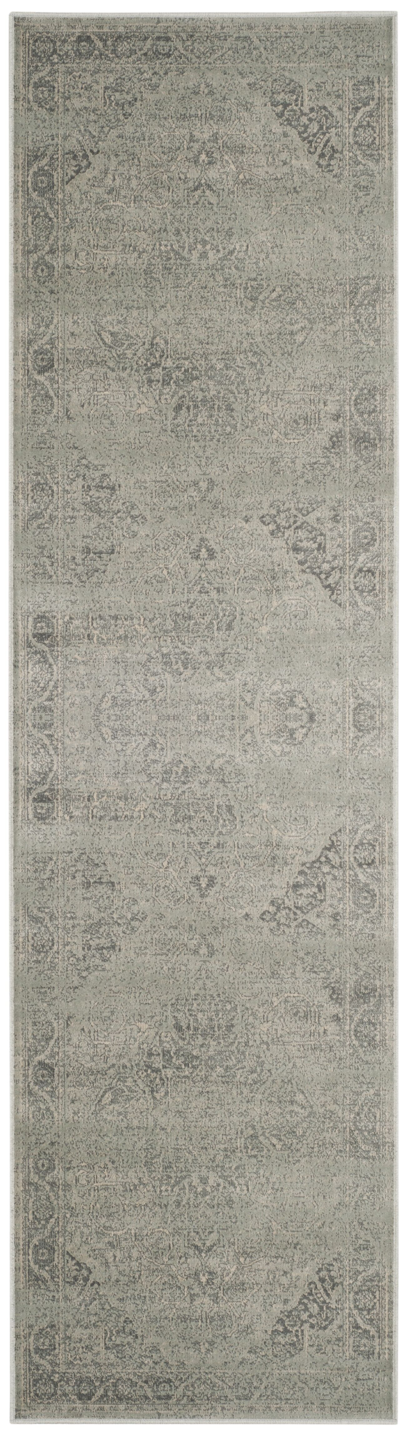 Frith Silver Area Rug Rug Size: Runner 2'2
