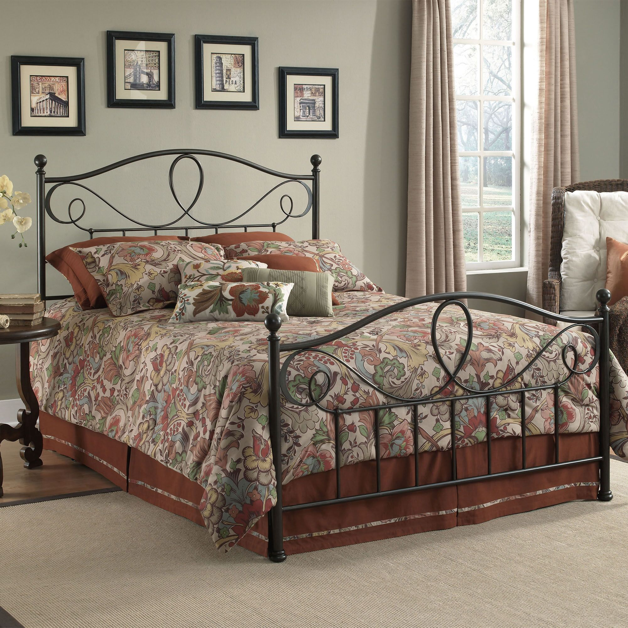 Brewington Panel Bed Size: California King