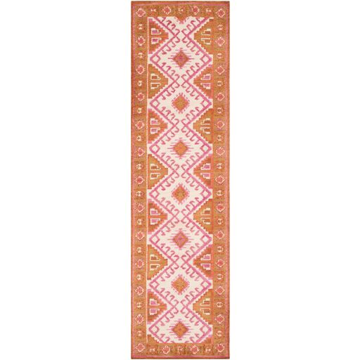 Robbins Southwestern Rose/Ivory Area Rug Rug Size: Rectangle 5' x 7'6