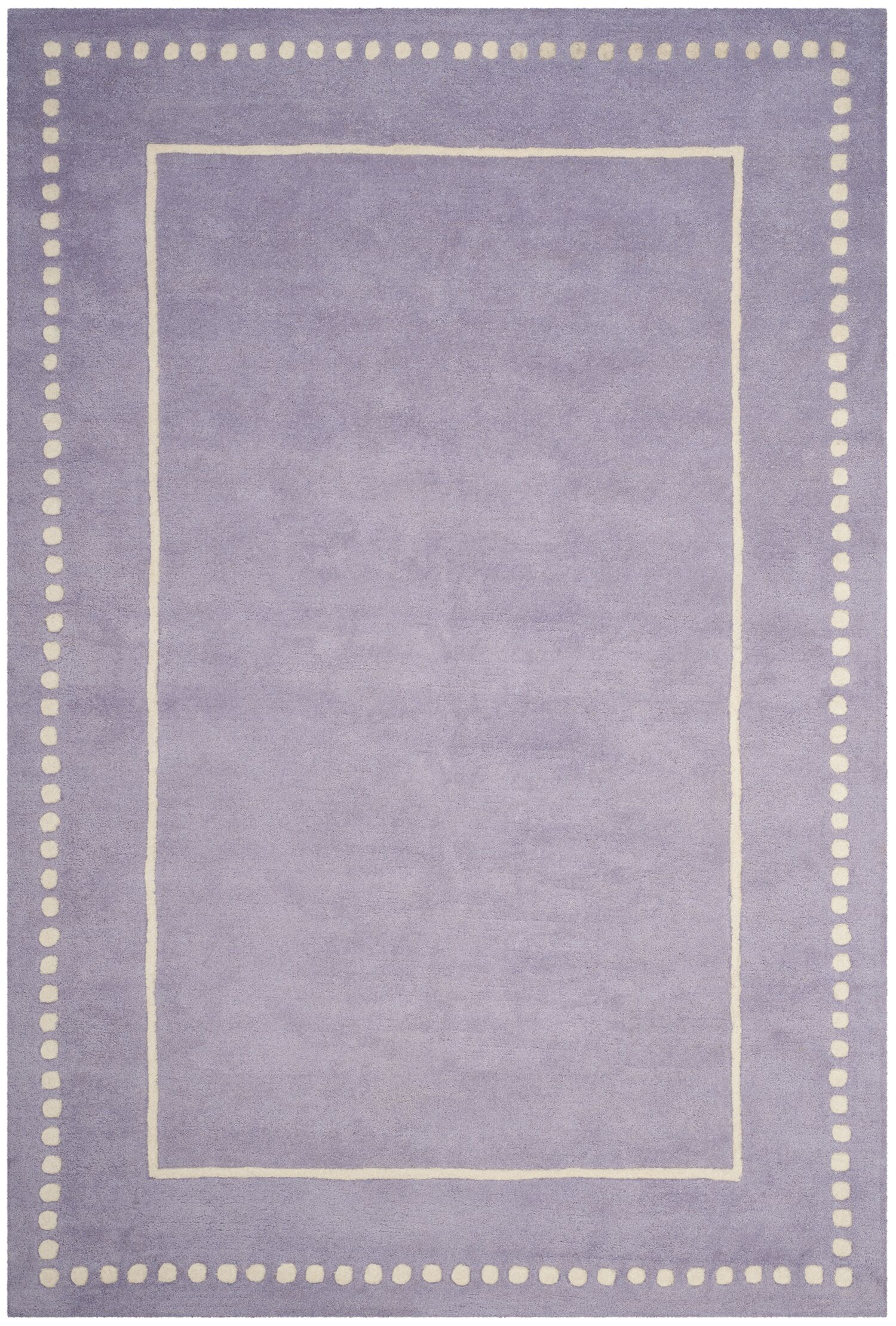 Amundson Hand-Tufted Gray Area Rug Rug Size: Rectangle 6' x 9'