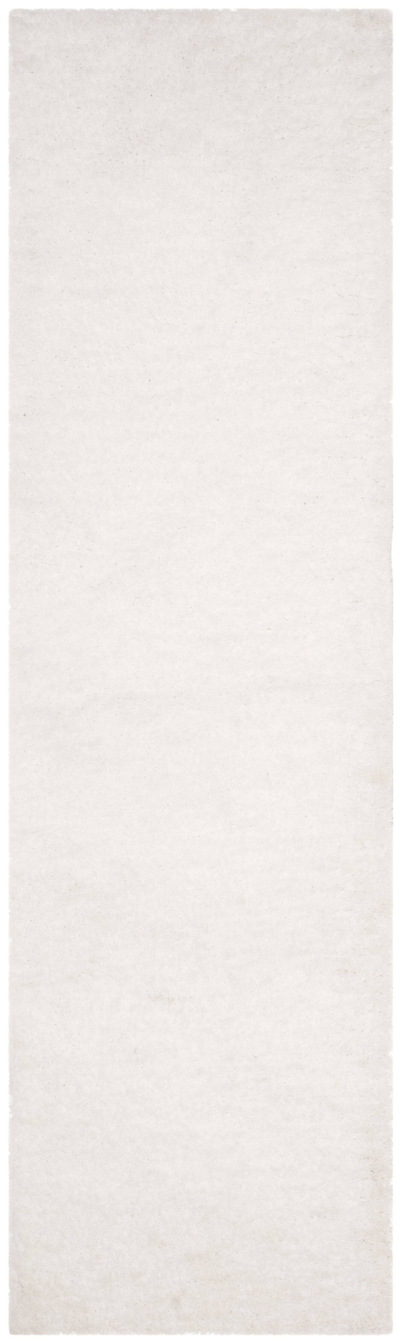 Detweiler Hand-Tufted White Area Rug Rug Size: Runner 2'3