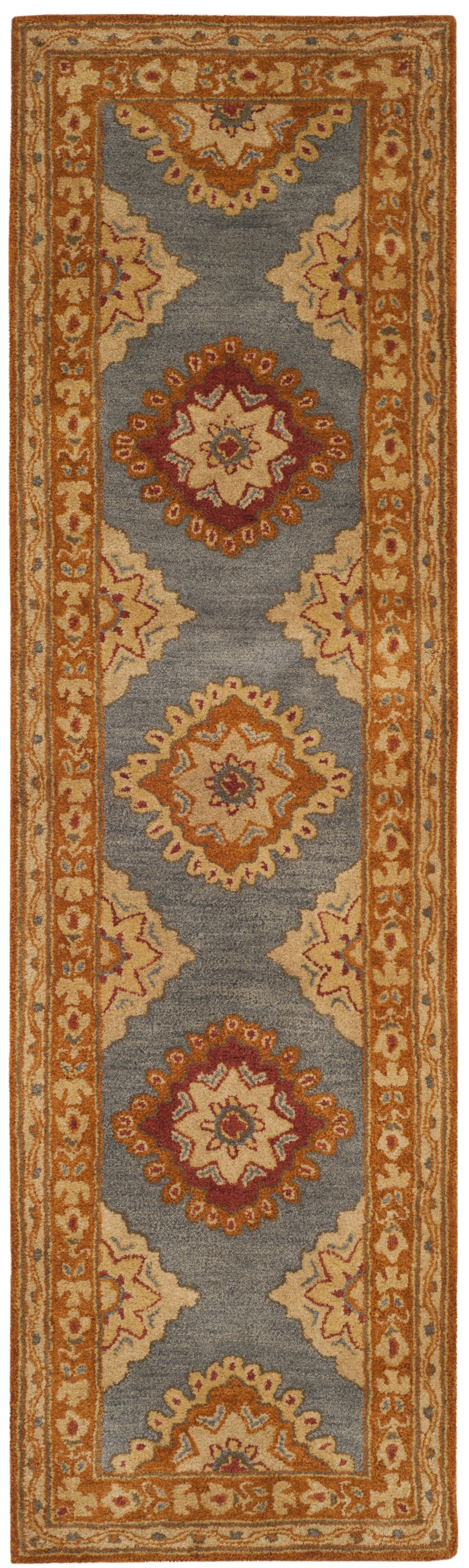 Cranmore Hand-Tufted  Area Rug Rug Size: Runner 2'3