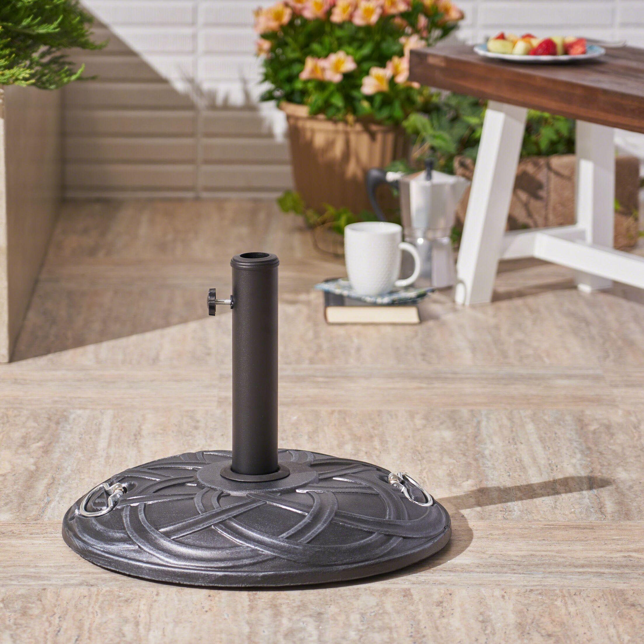 Lindahl Outdoor Concrete Free Standing Umbrella Base