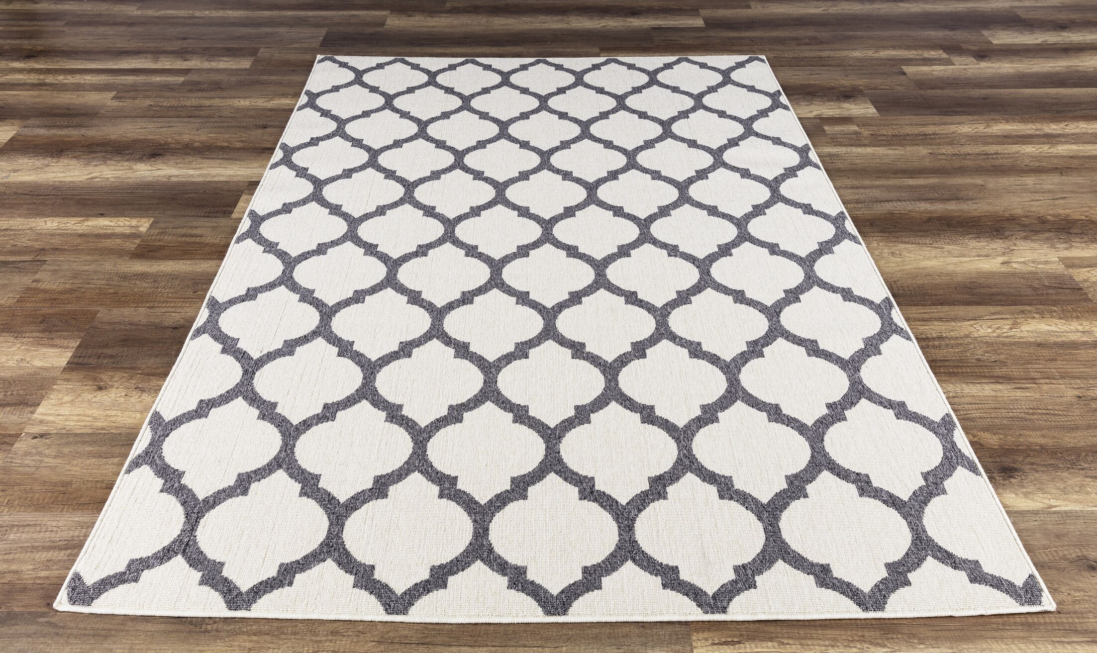 Ramsay Gray  Indoor/Outdoor Area Rug Rug Size: Rectangle 7'10