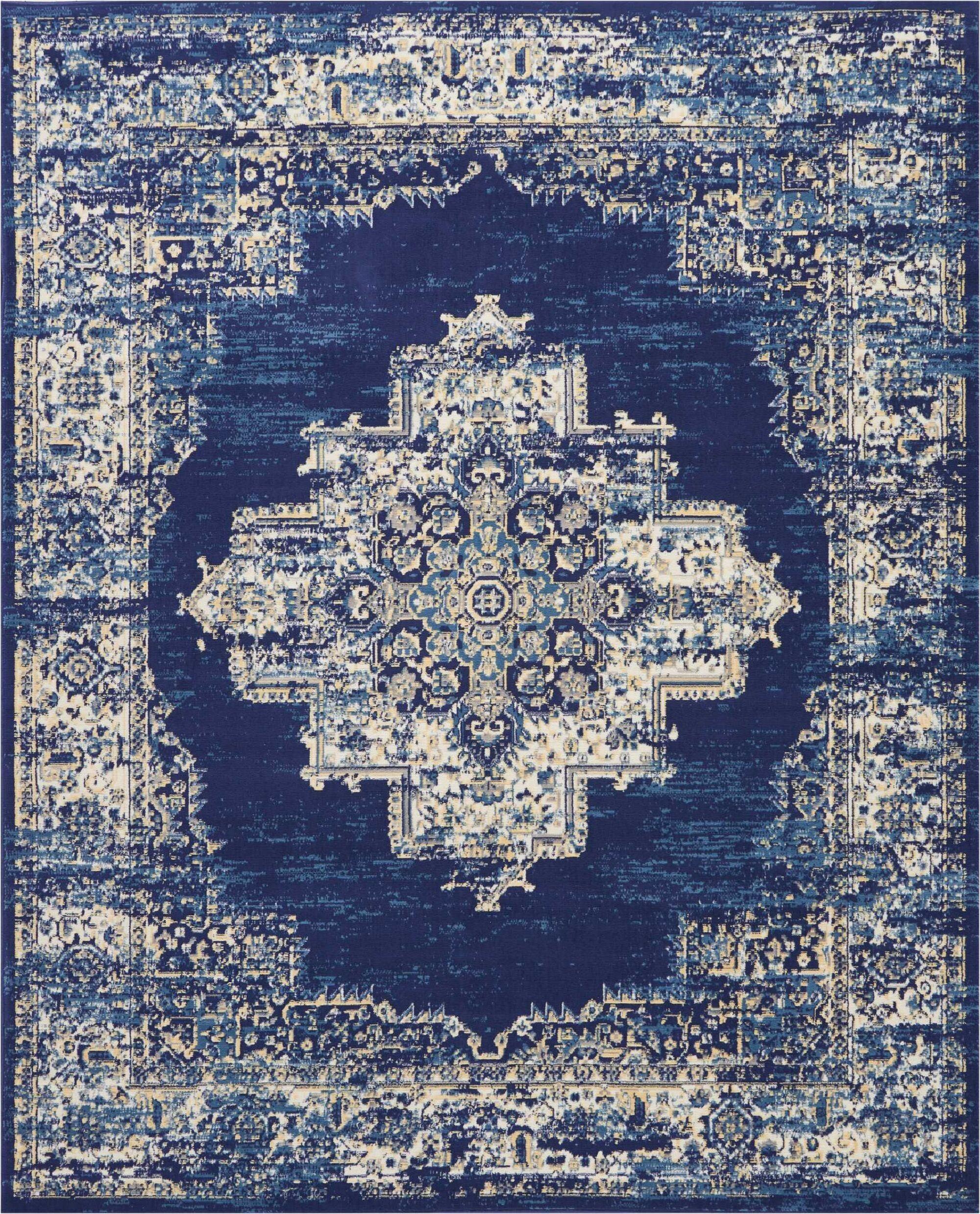 Susan Blue Area Rug Rug Size: Rectangle7'10
